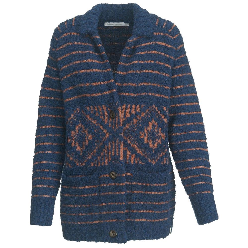 WOOLRICH Women's Roundtrip Cardigan Sweater Coat - NEPTUNE