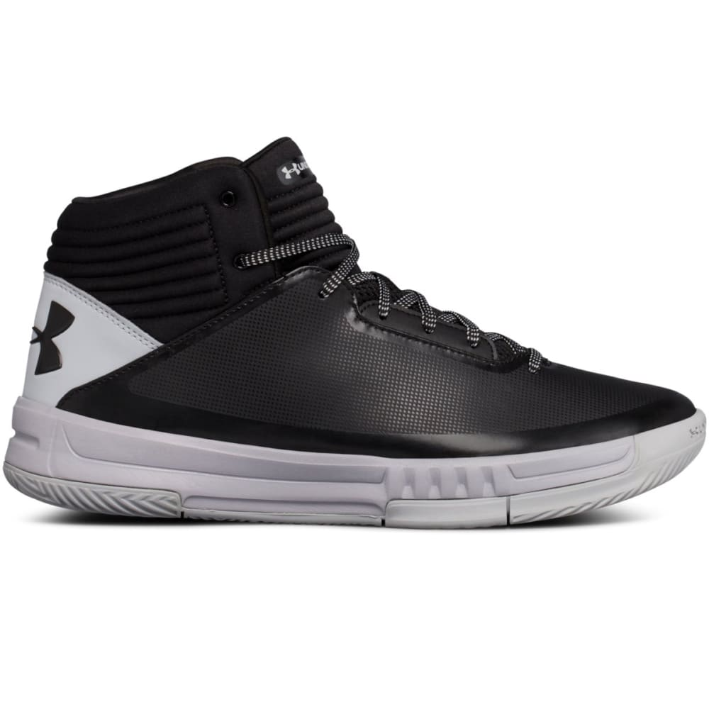UNDER ARMOUR Men's Lockdown 2 Basketball Shoes - BLACK