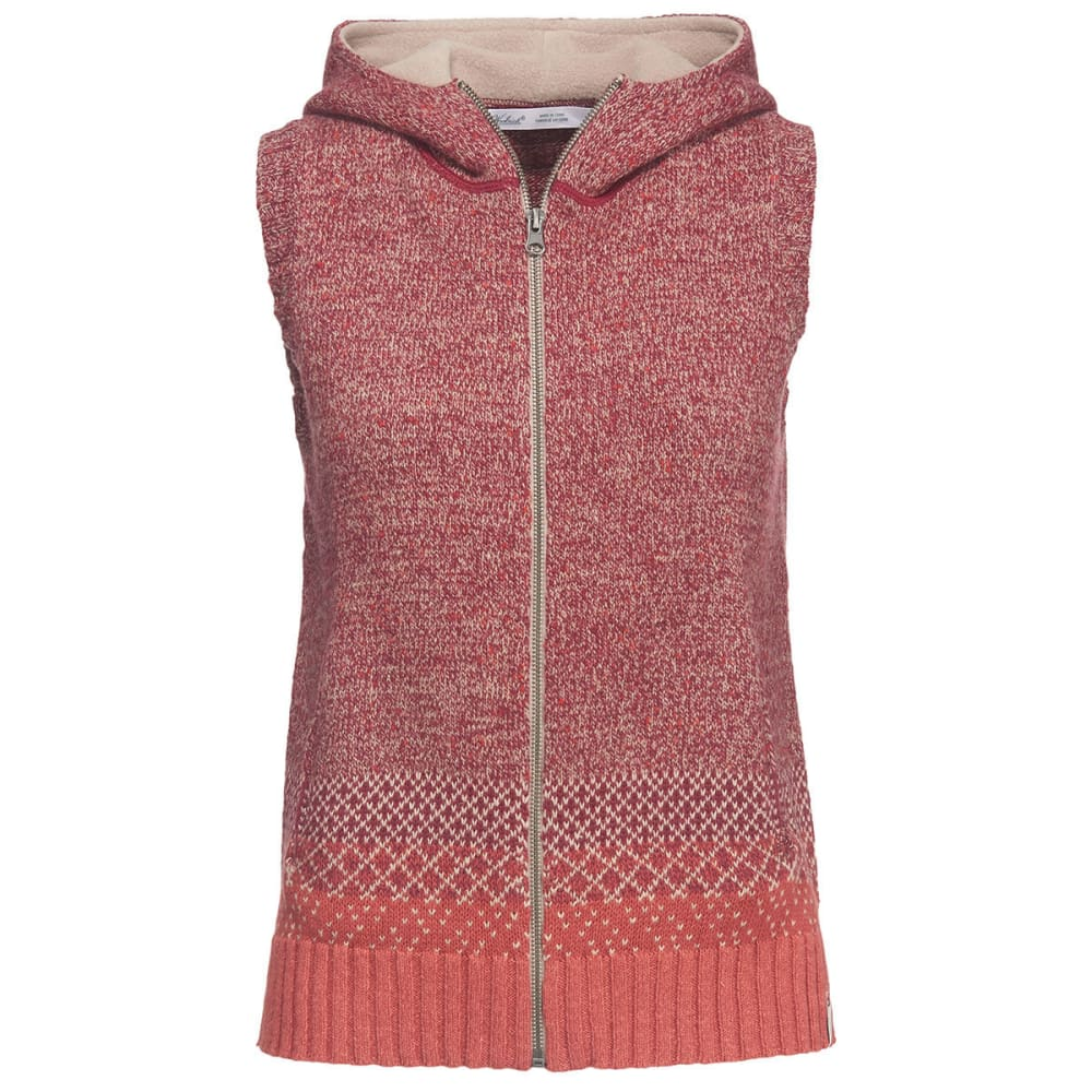 WOOLRICH Women's Tanglewood Hooded Vest - TERRACOTA