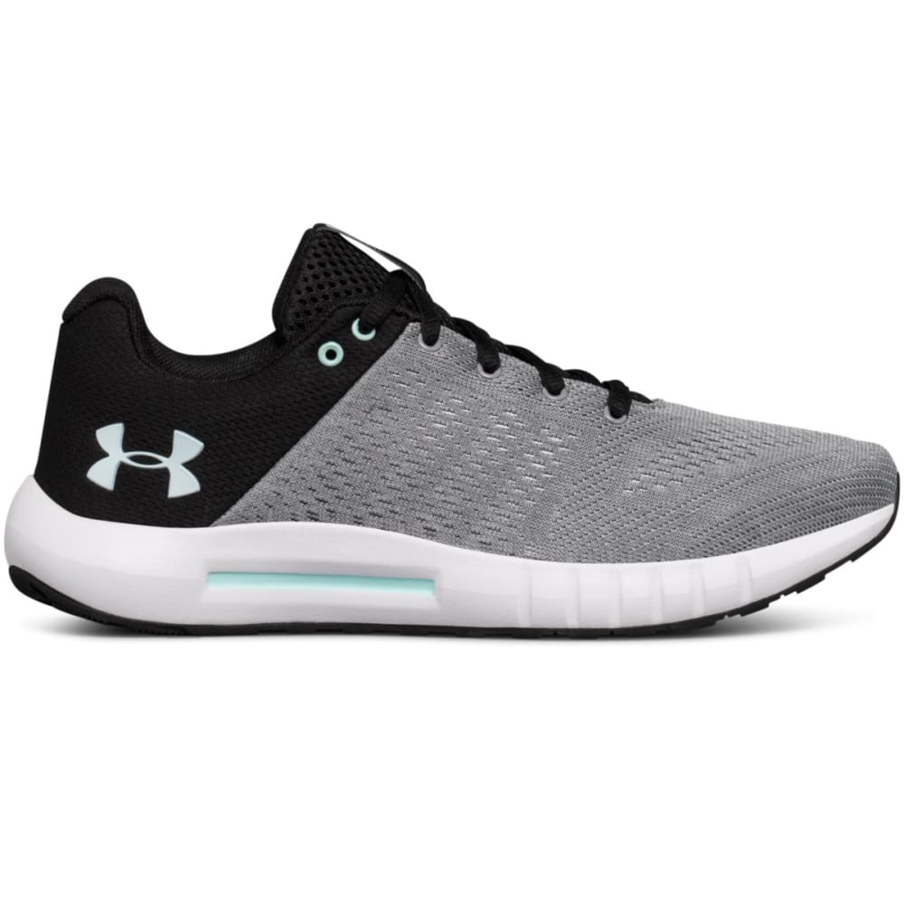 UNDER ARMOUR Women's Micro G Pursuit Running Shoes - STEEL