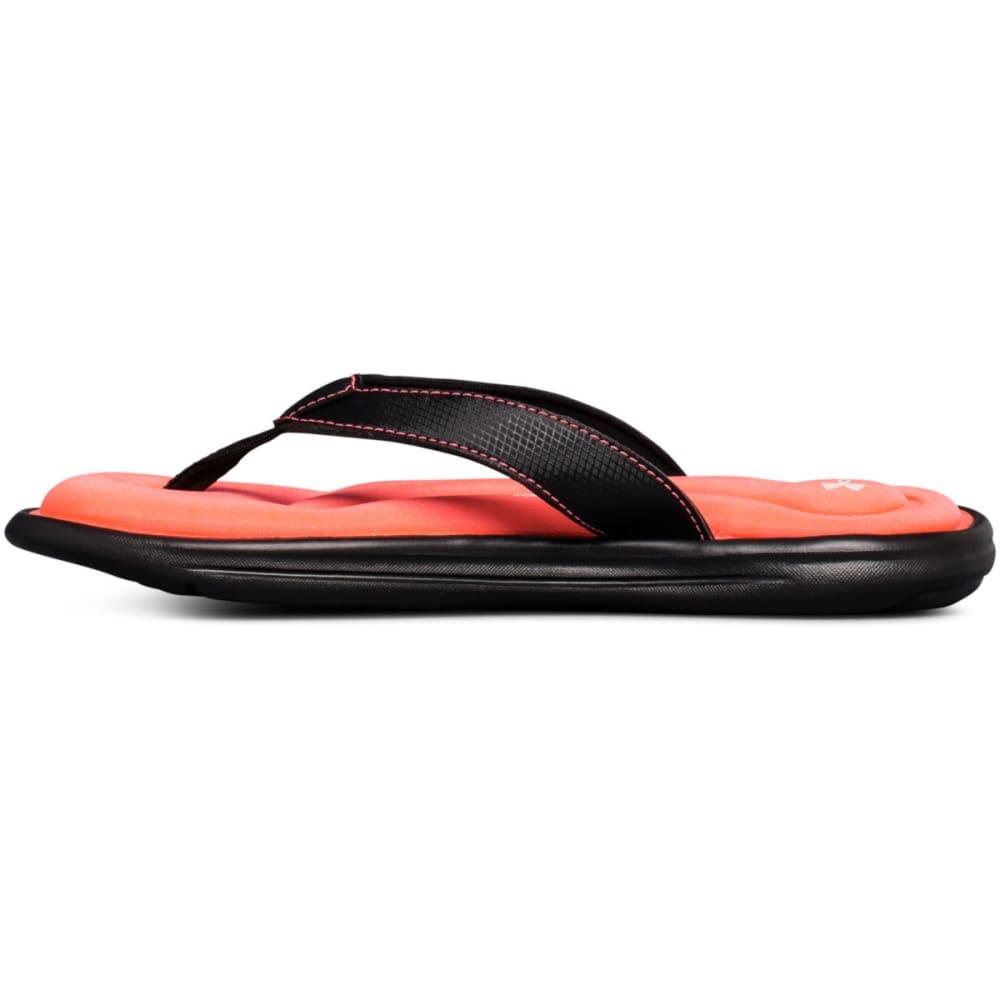 UNDER ARMOUR Women's Marbella VI Flip Flops - BLACK