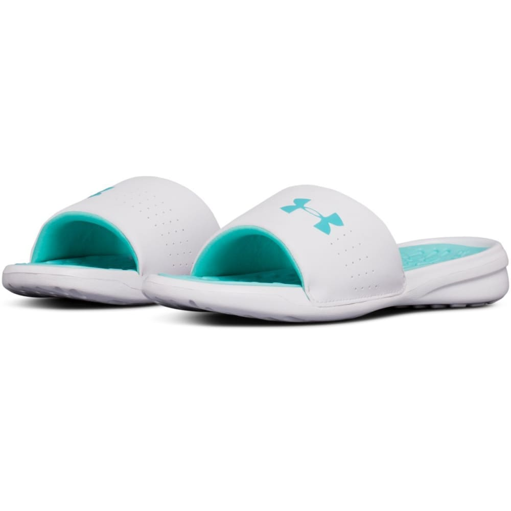UNDER ARMOUR Women's Debut Fix Slide Sandals - TROPICAL TIDE