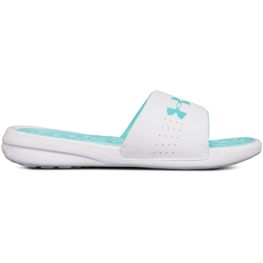 Under Armour Women's Debut Fix Slide Sandals - Green, 8