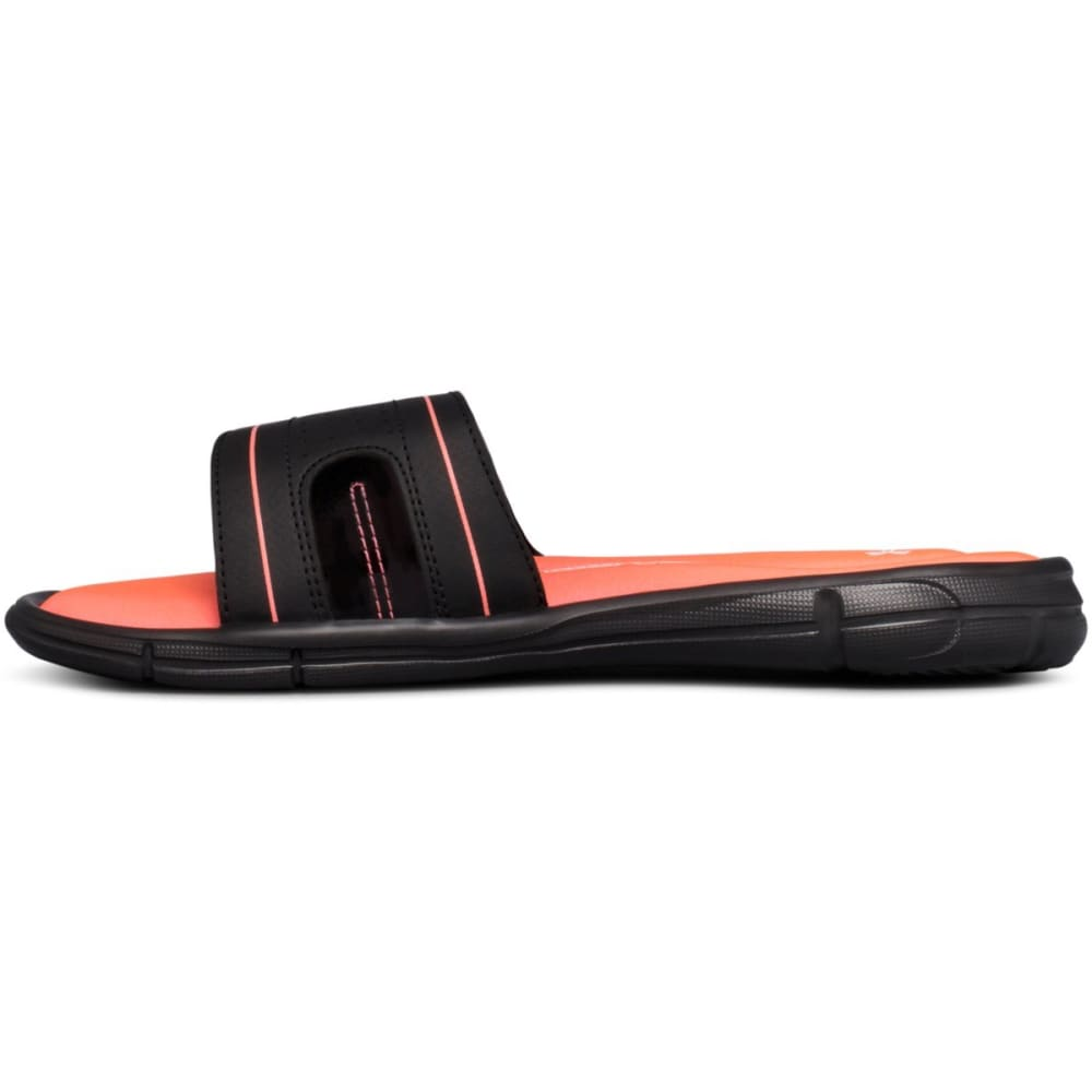 UNDER ARMOUR Women's Ignite VIII Edge Slide Sandals - BLACK