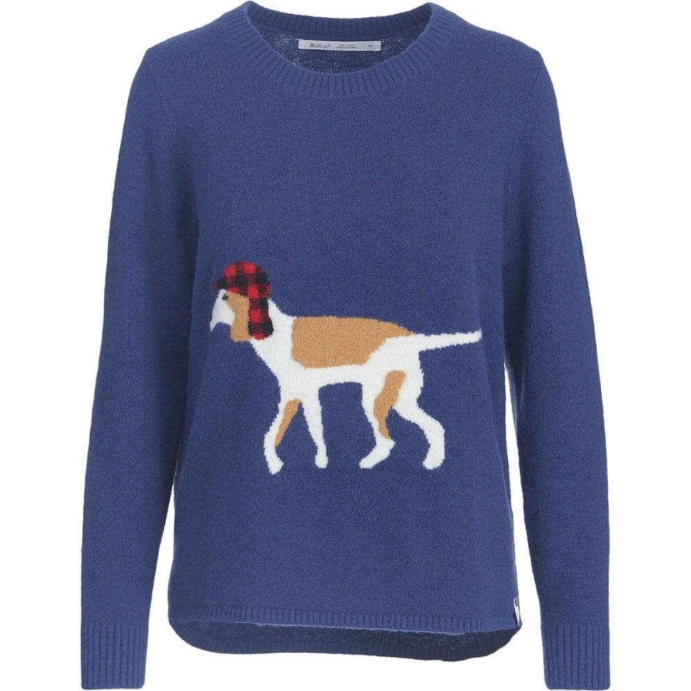 WOOLRICH Women's Woolrich Motif Sweater - NEPTUNE