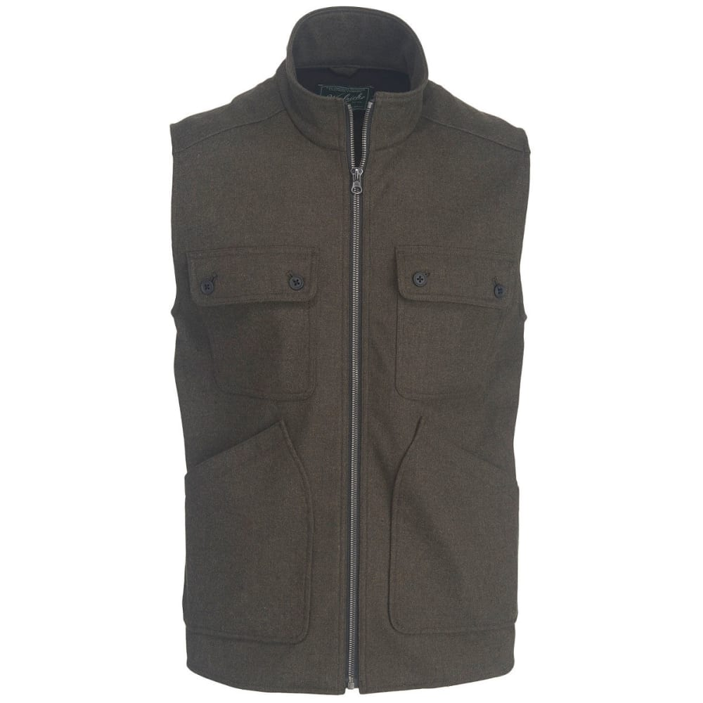 WOOLRICH Men's West Ridge Vest - BLACK HEATHER