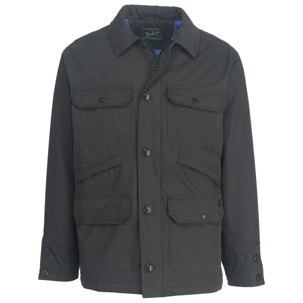 WOOLRICH Men's Crestview Eco Rich Field Jacket - ASPHALT