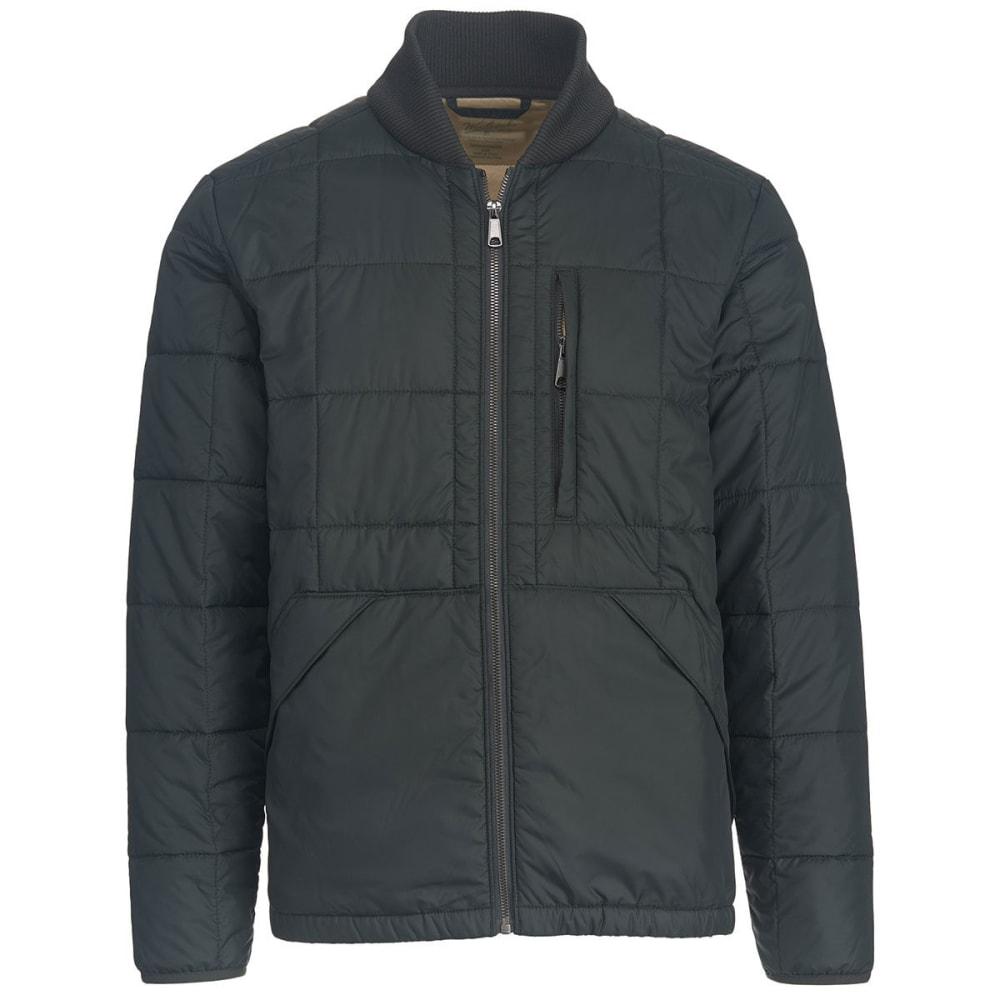WOOLRICH Men's Exploration Heritage Eco Rich Packable Jacket - ASPHALT