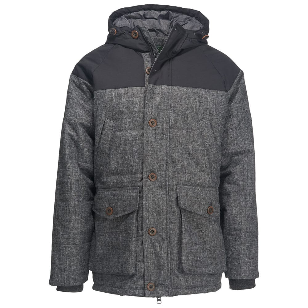 Woolrich Men's Bitter Chill Wool Loft Jacket - Black, XXL