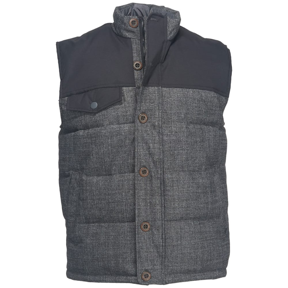 Woolrich Men's Bitter Chill Wool Loft Vest - Black, M
