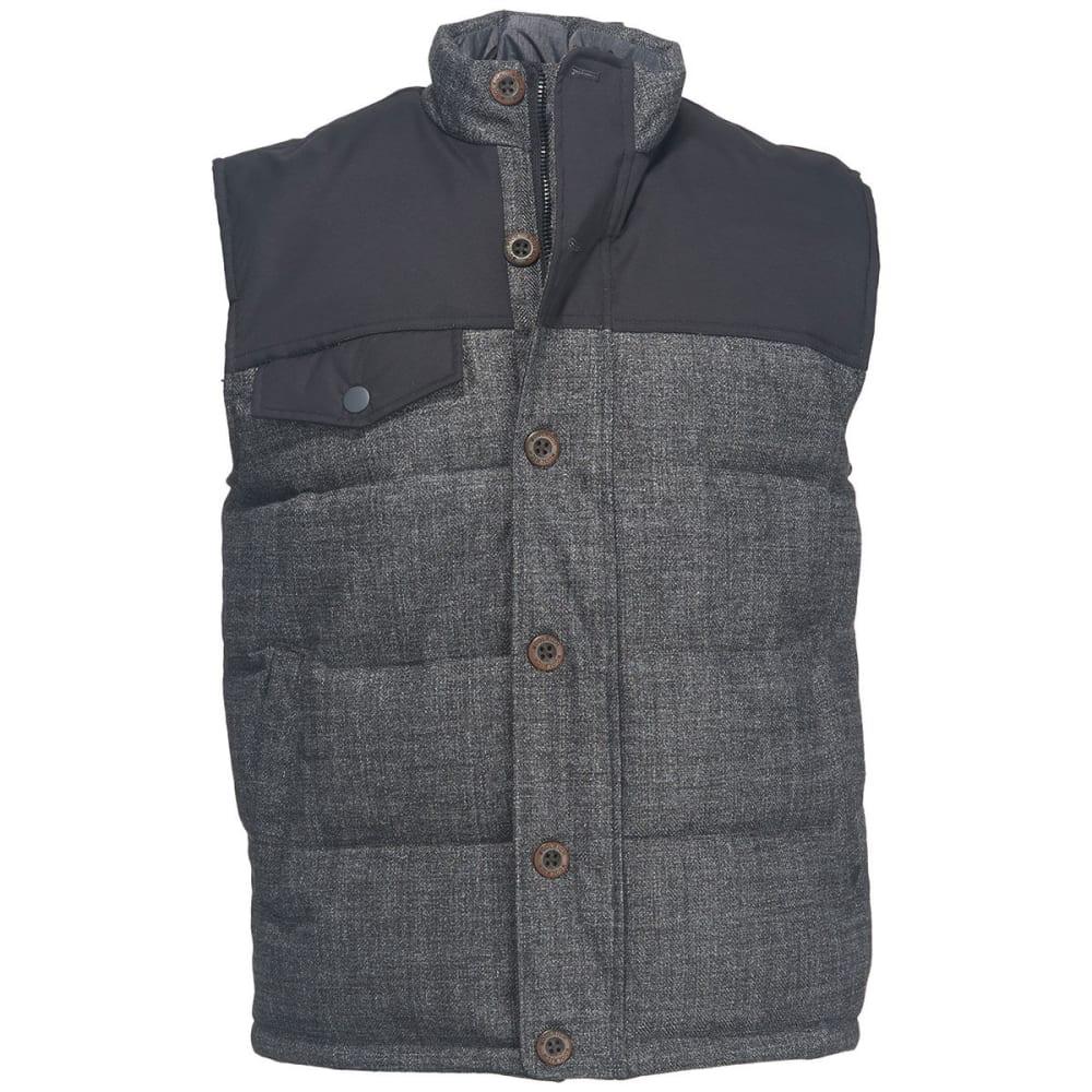 Woolrich Men's Bitter Chill Wool Loft Vest - Black, M