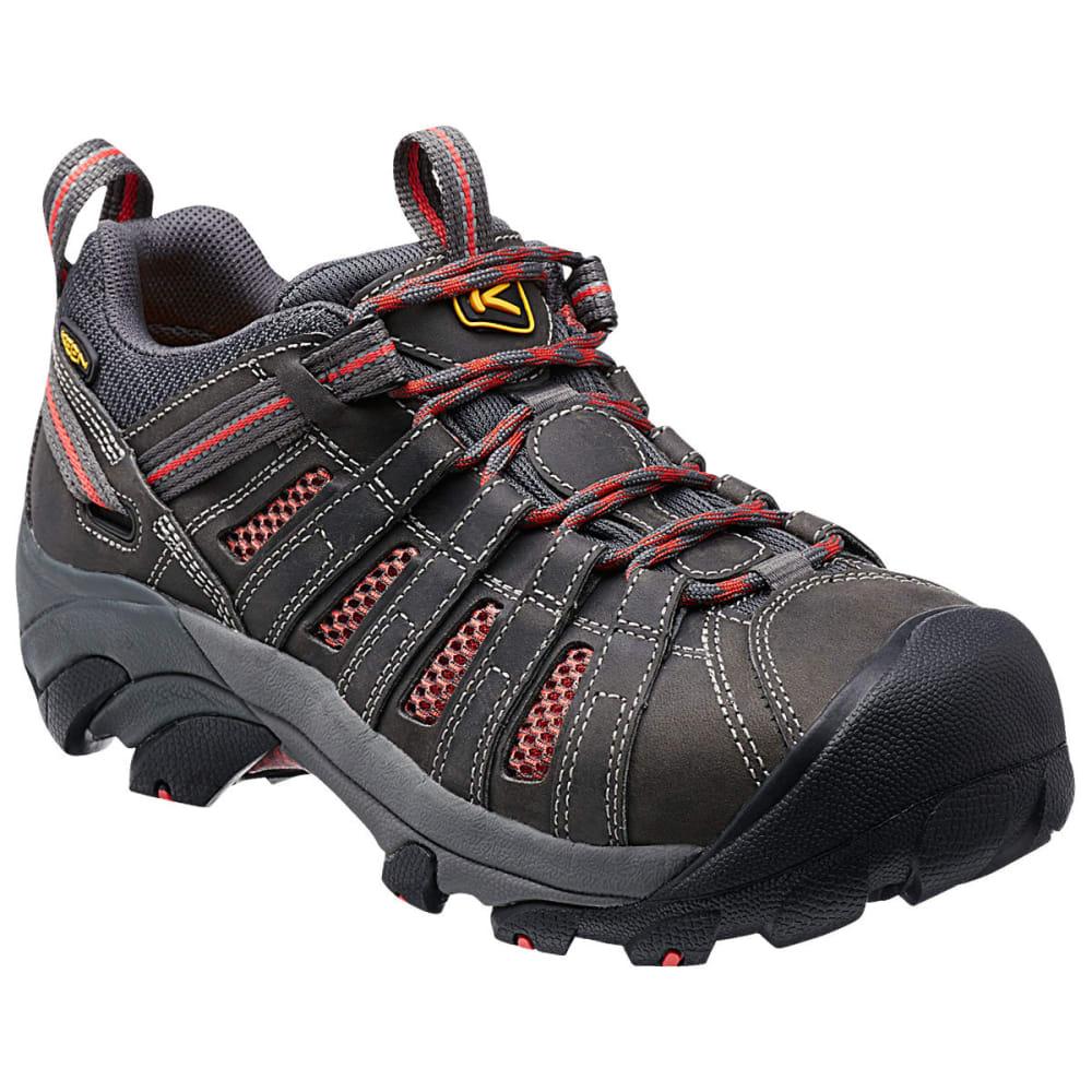 KEEN Women's Flint Low Steel Toe Work Shoes 6.5
