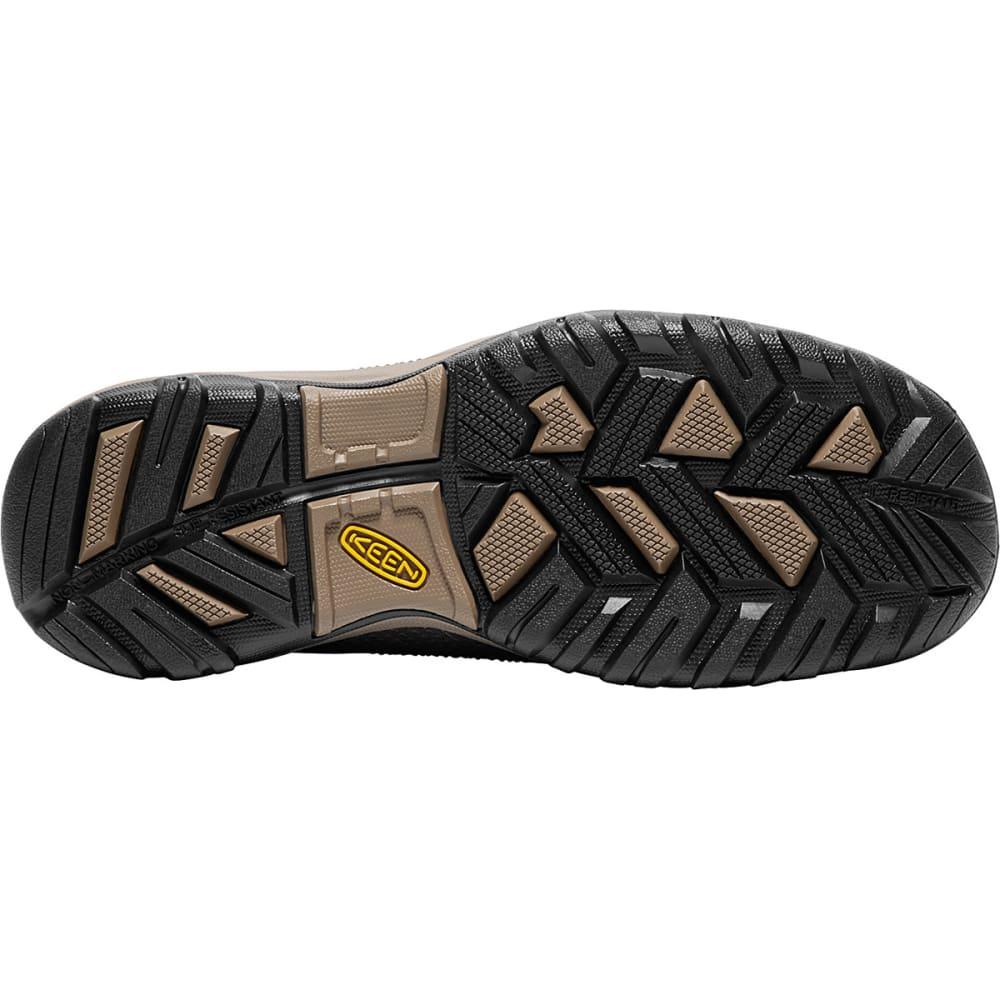 KEEN MEN'S LA Conner ESD Aluminum Toe Work Shoes - CASCADE  BROWN