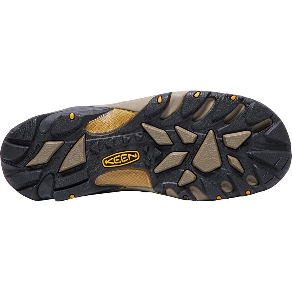 KEEN Men's Lansing Waterproof Mid Steel Toe Boot - RAVEN TAWNEY/OLIVE