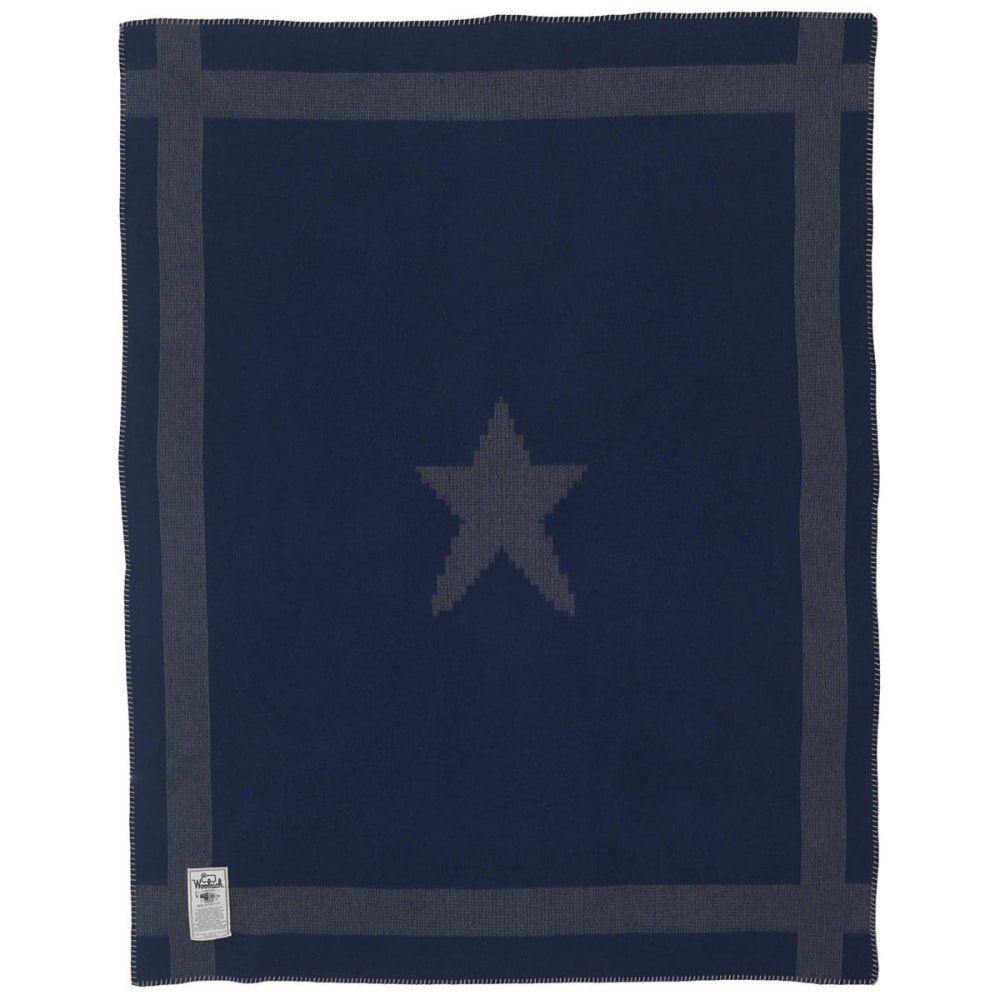 WOOLRICH Gettysburg Star Civil War Soft Wool Blanket - GRAY