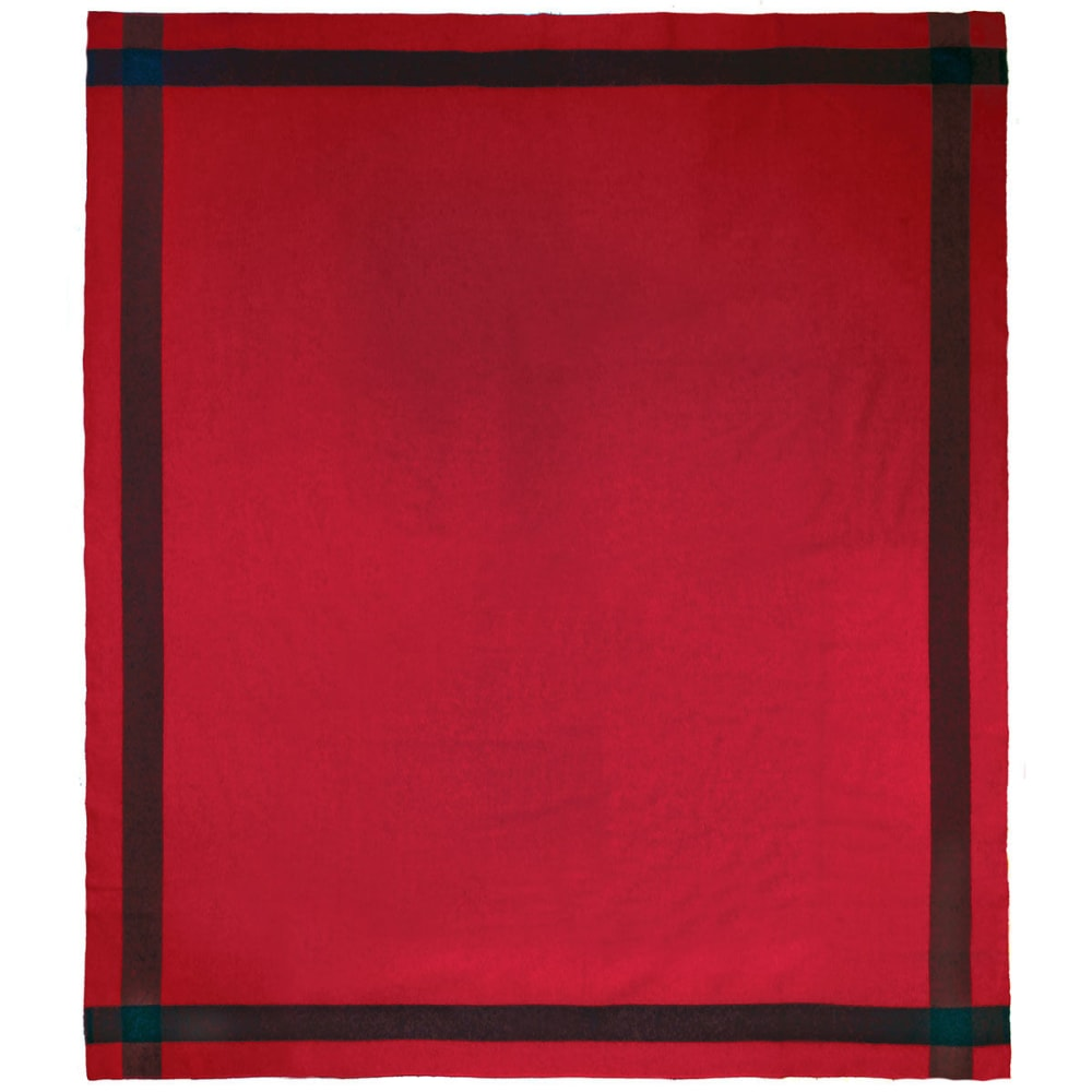 WOOLRICH Civil War Artillery Wool Blanket - RED