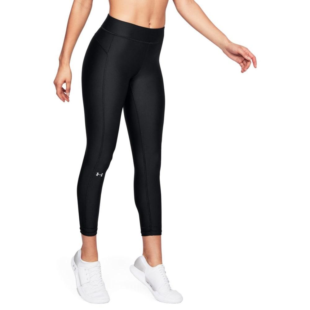 UNDER ARMOUR Women's HeatGear® Armour Ankle Crop Leggings - BLACK-001