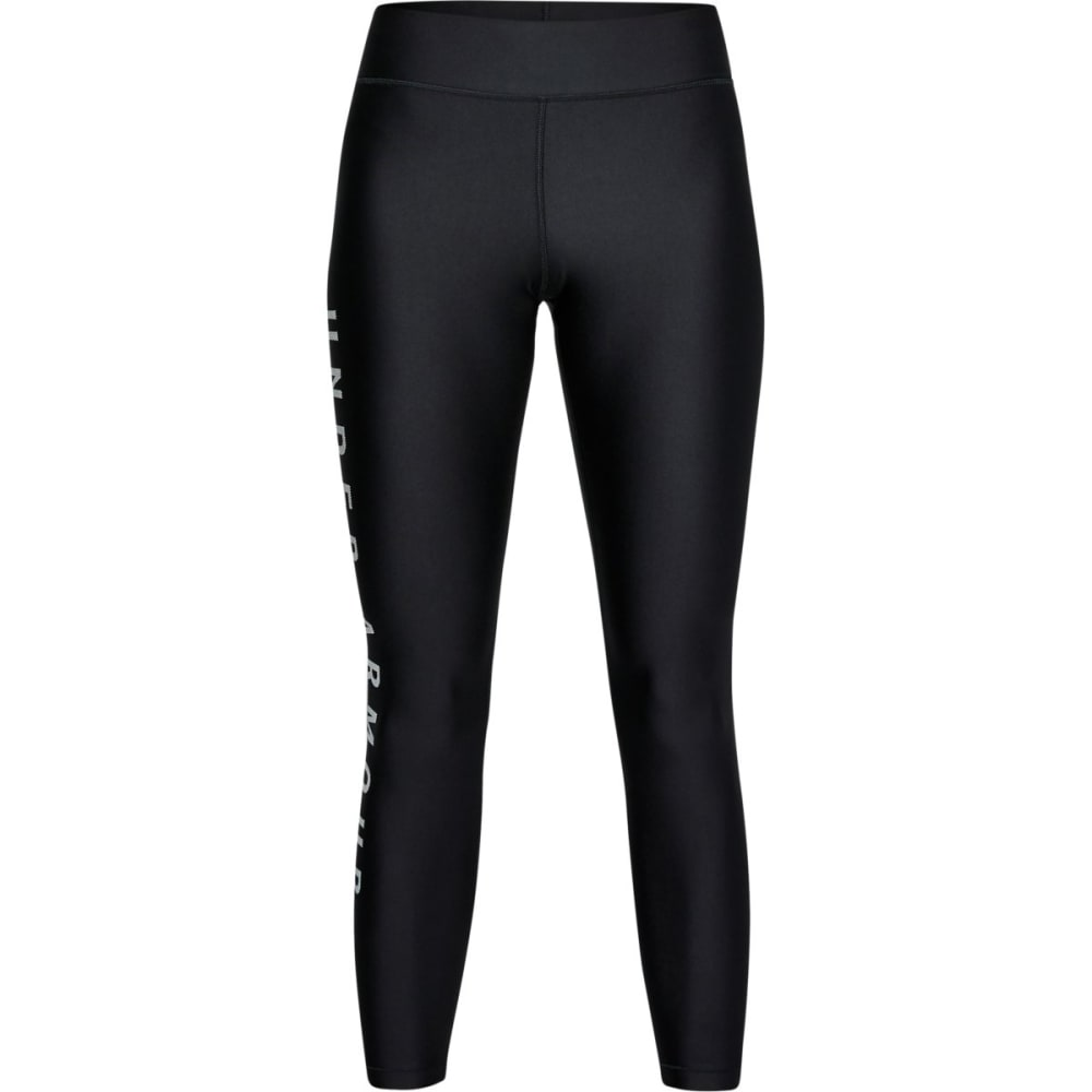 Under Armour Women's Heatgear Armour Branded Ankle Crop Leggings - Black, XL