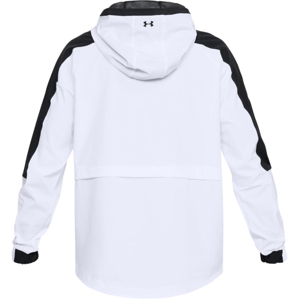 UNDER ARMOUR Women's UA Storm Woven Anorak Jacket - WHITE/BLACK-100