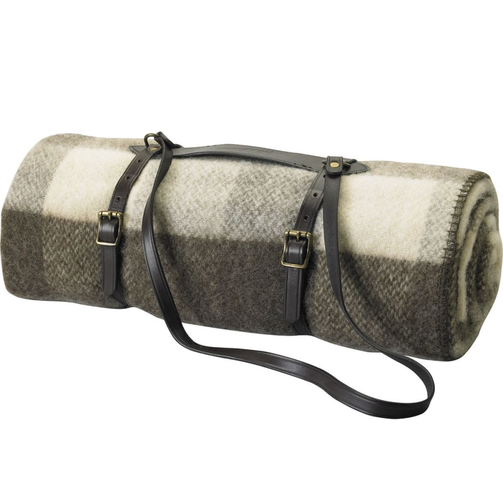WOOLRICH Leather Blanket Harness Carrier - NO COLOR