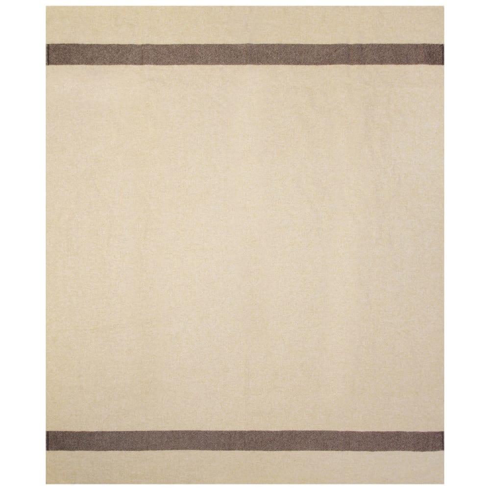 WOOLRICH Civil War Fort Sumter Wool Blanket - TAN