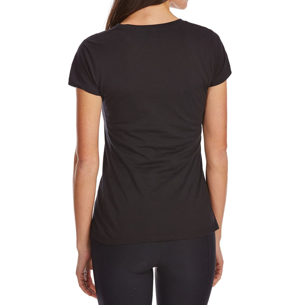 COLD CRUSH Juniors' Only On December 25th Short-Sleeve Tee - BLACK