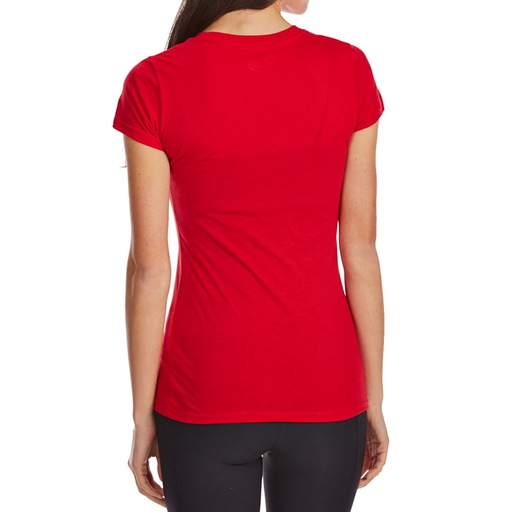 COLD CRUSH Juniors' As Merry As I Get Short-Sleeve Tee - RACING RED