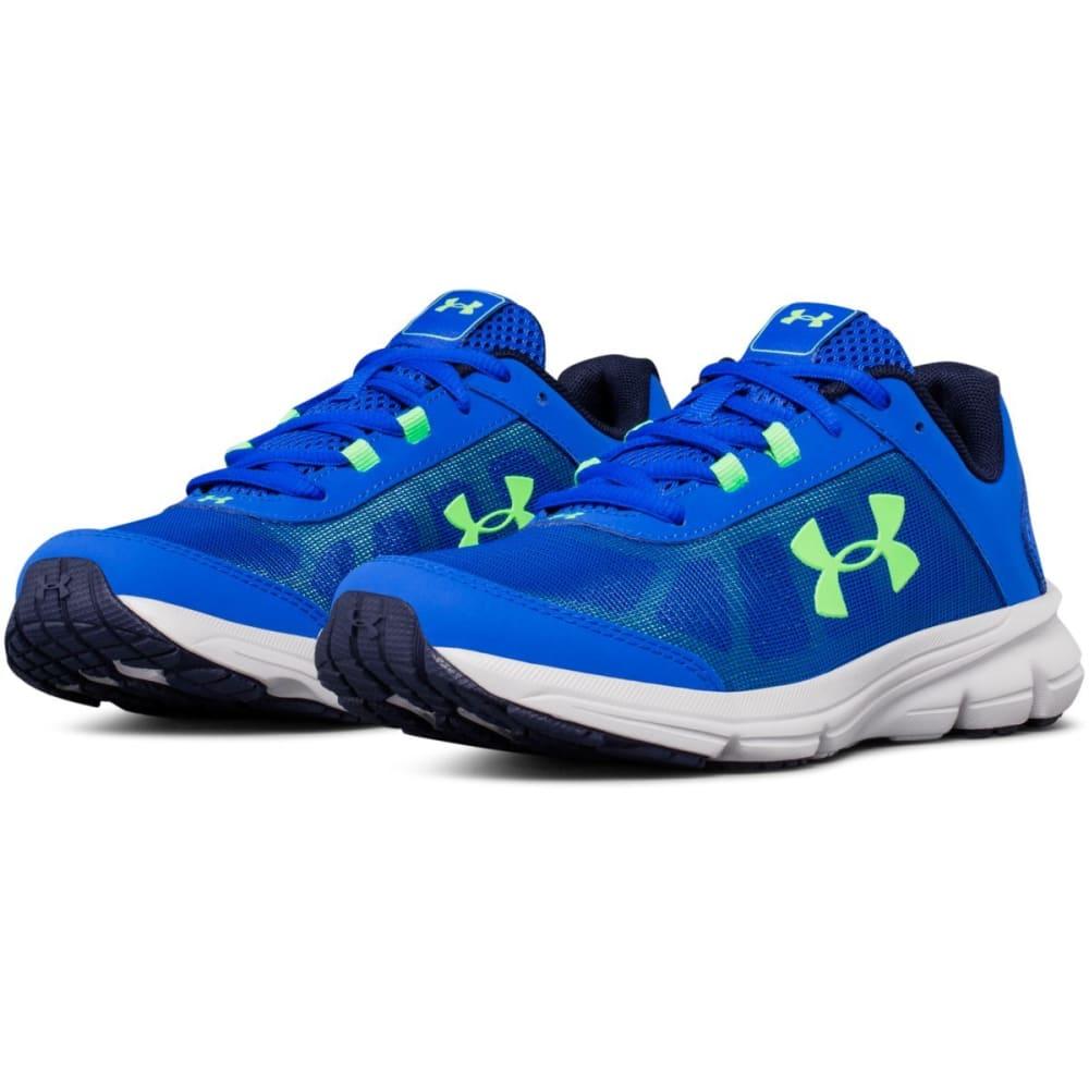 UNDER ARMOUR Big Boys' Grade School UA Rave 2 Running Shoes - ROYAL BLUE