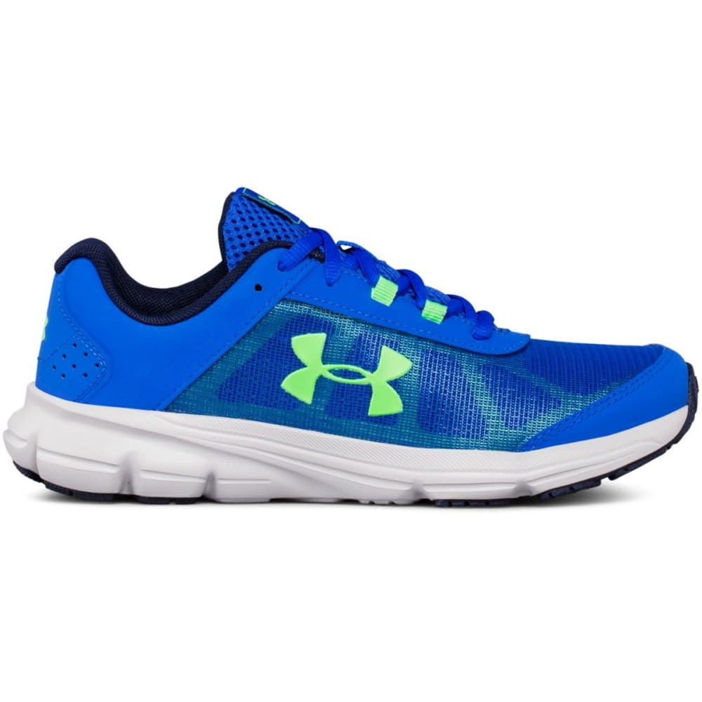 UNDER ARMOUR Big Boys' Grade School UA Rave 2 Running Shoes - ROYAL BLUE