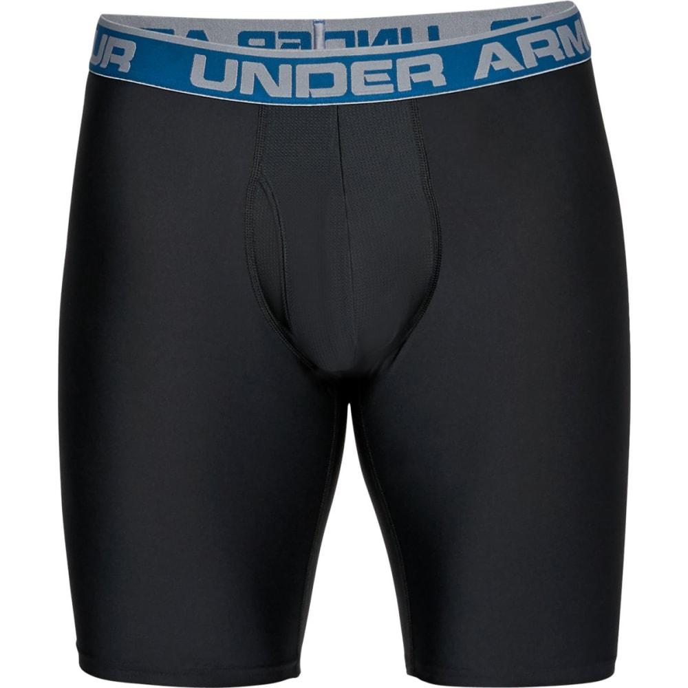 UNDER ARMOUR Men's 6 in. UA Original Series Boxerjock Boxer Briefs, 2-Pack - BLACK-001