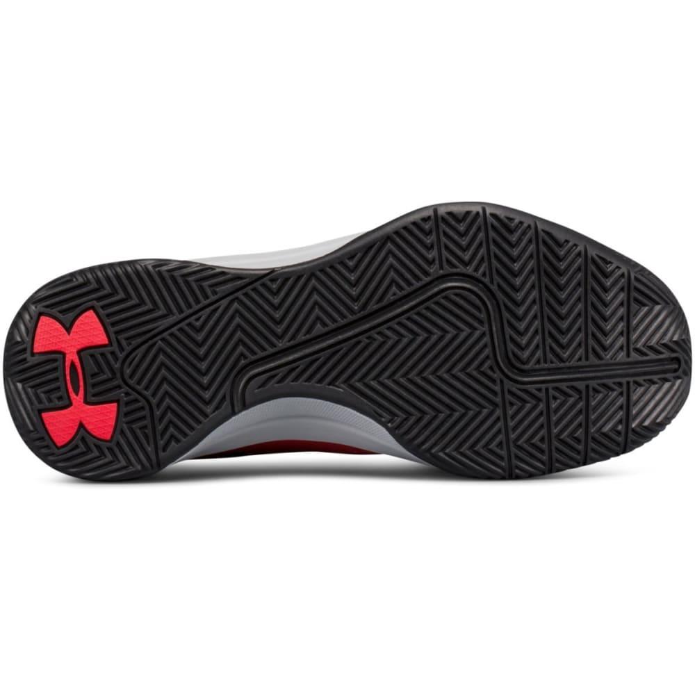 UNDER ARMOUR Big Boys' Grade School UA Jet 2017 Basketball Shoes - RED