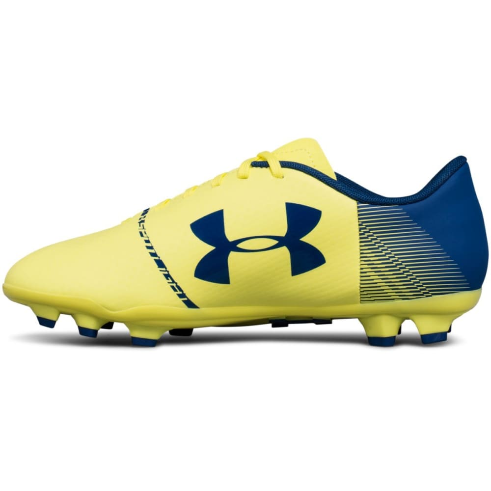 UNDER ARMOUR Big Kids' UA Spotlight DL Firm Ground Jr. Soccer Cleats - YELLOW