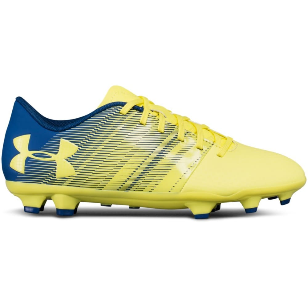 UNDER ARMOUR Big Kids' UA Spotlight DL Firm Ground Jr. Soccer Cleats - YELLOW