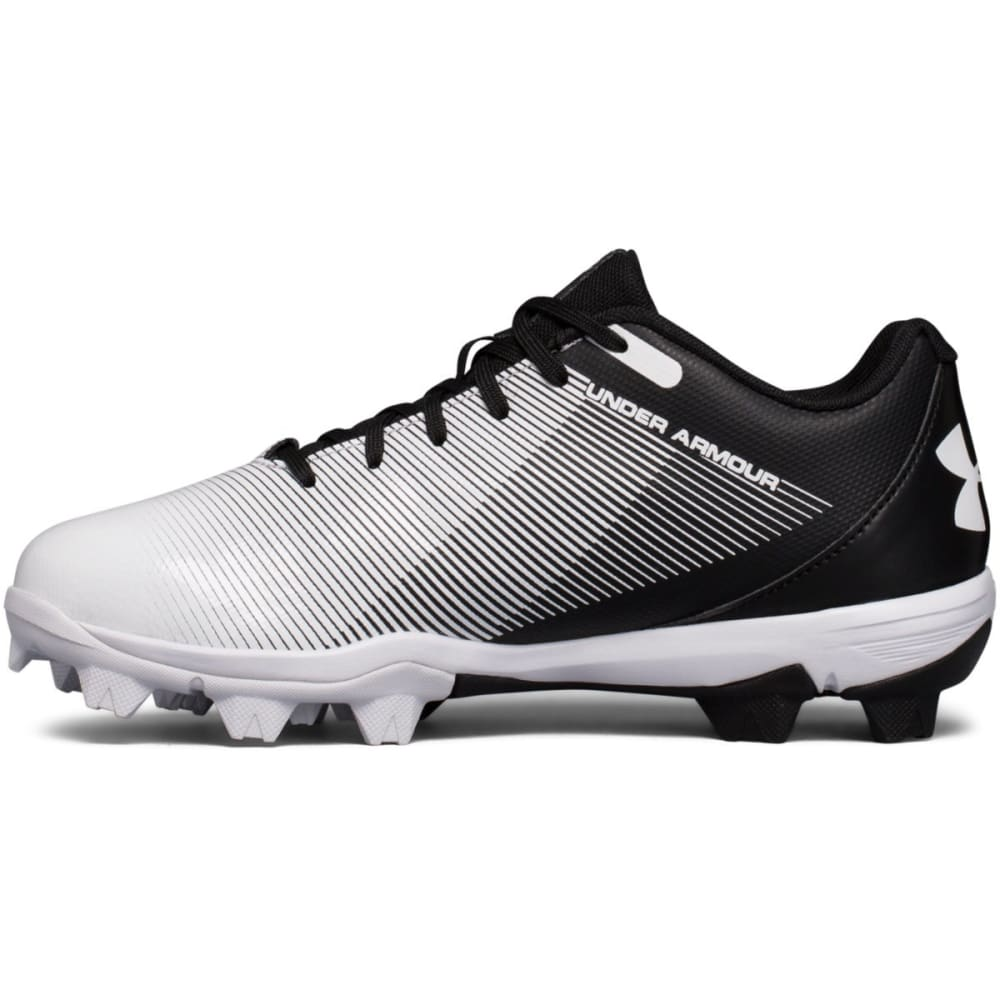 UNDER ARMOUR Boys' UA Leadoff Low RM Jr. Baseball Cleats - BLACK