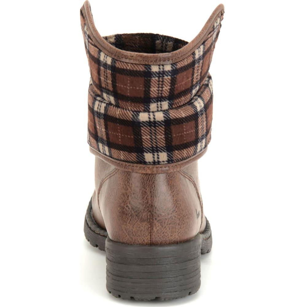 B.O.C. Women's Saturn Lace-Up Boots, Latte/Plaid - LATTE/PLAID