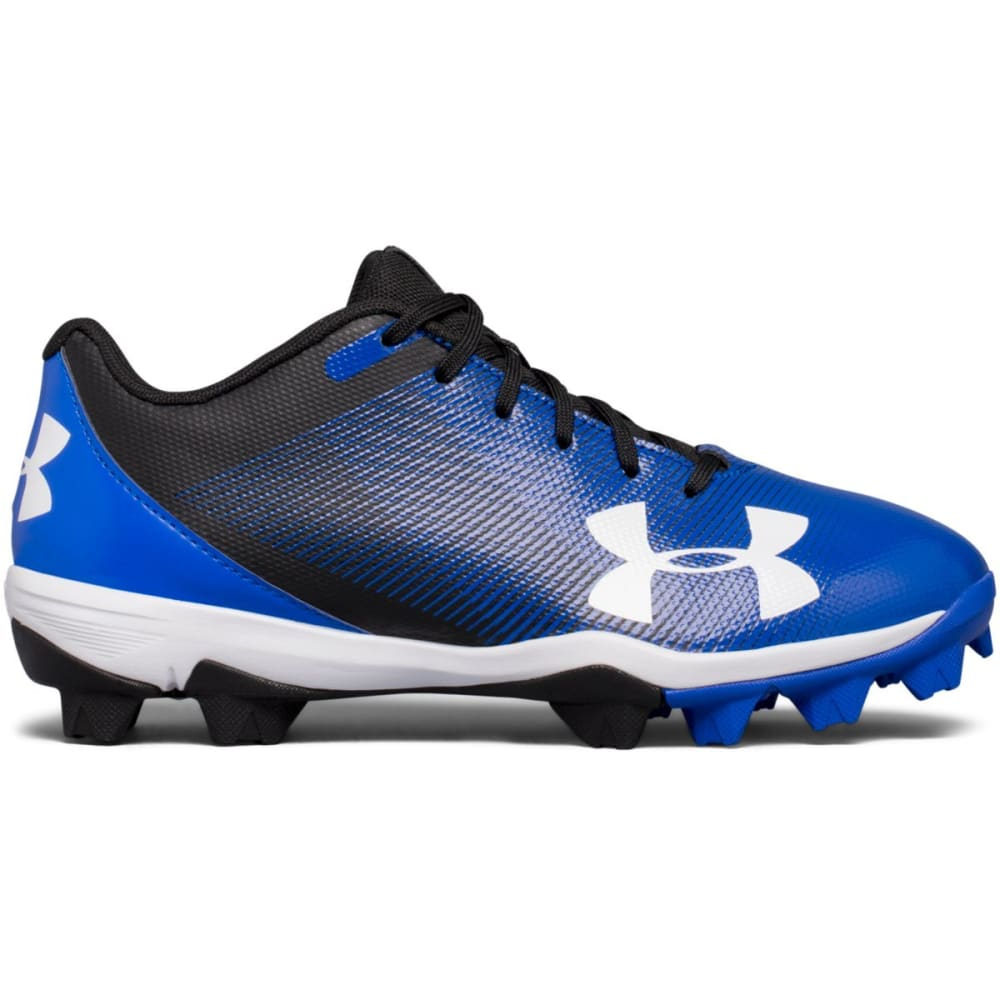UNDER ARMOUR Kids' Leadoff Low RM Jr. Baseball Cleats - ROYAL BLUE