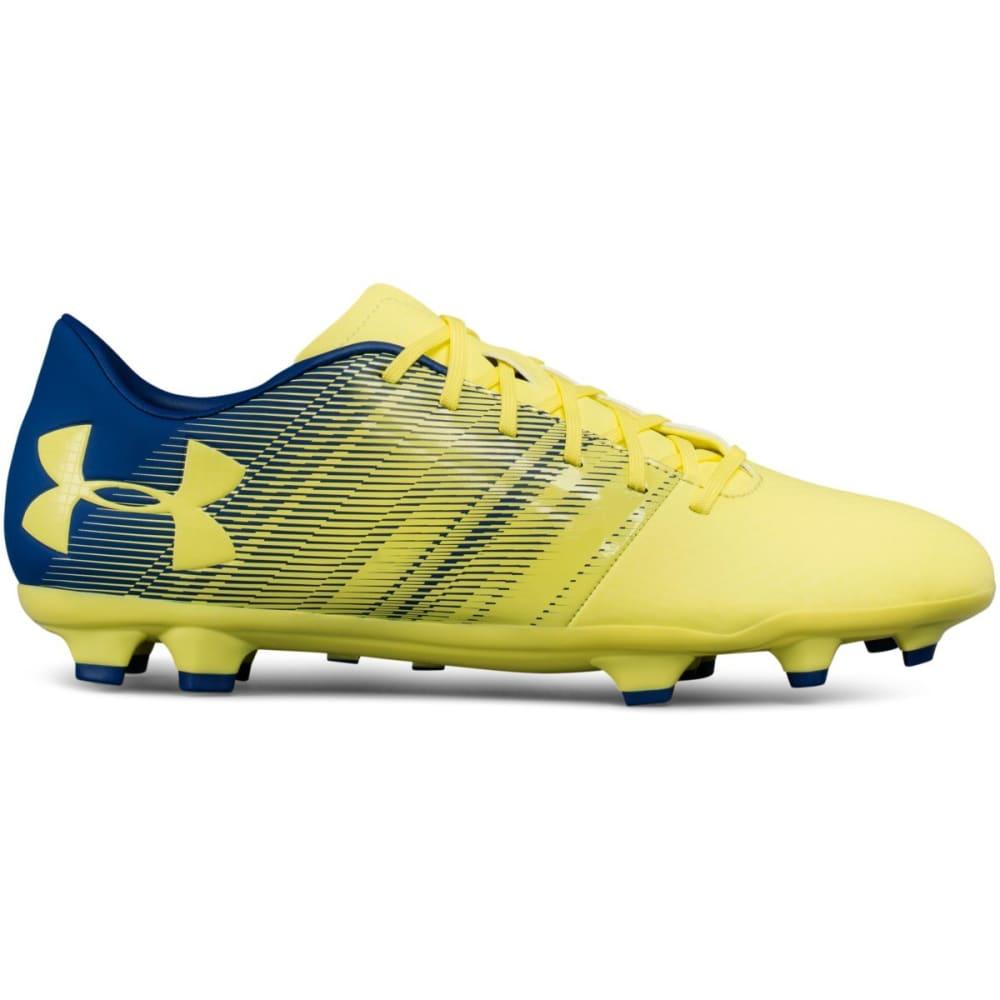 UNDER ARMOUR Men's UA Spotlight DL Firm Ground Soccer Cleats - YELLOW