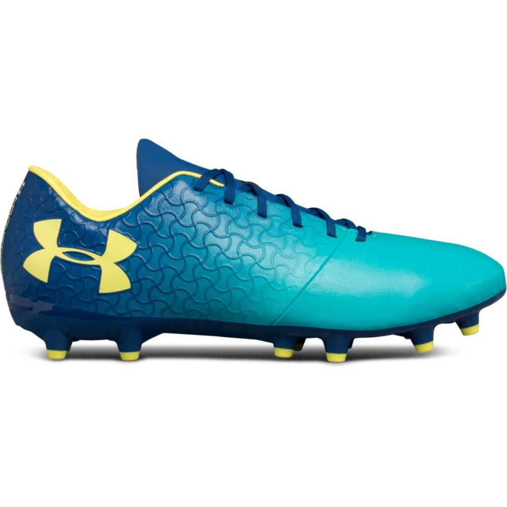 UNDER ARMOUR Men's UA Magnetico Select FG Firm Ground Soccer Cleats - TEAL