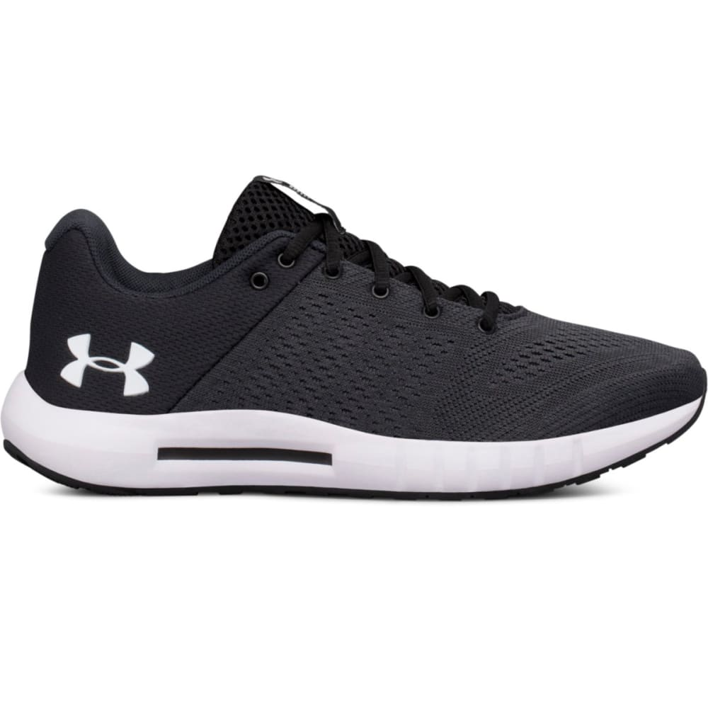 Under Armour Women's Micro G Pursuit Running Shoes - Black, 6