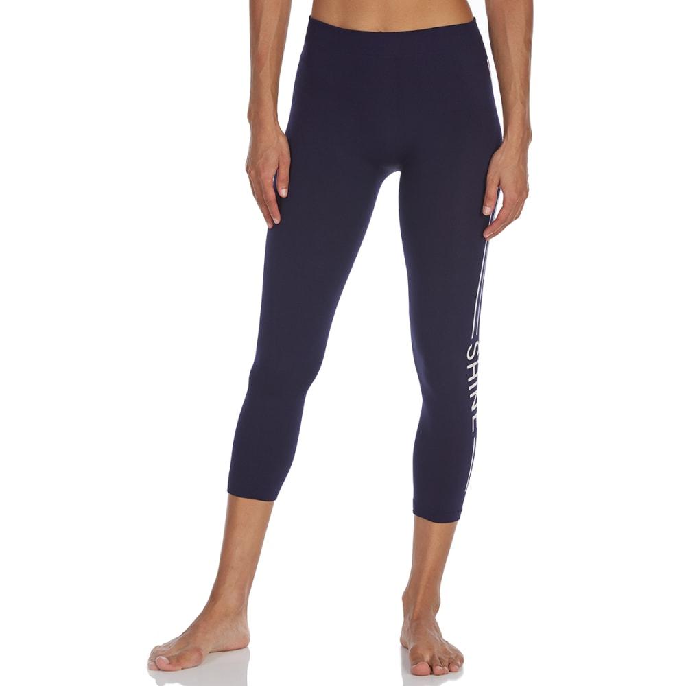 STAR RIDE Big Girls' Linear Verbiage Fleece-Lined Leggings - ASSORTED