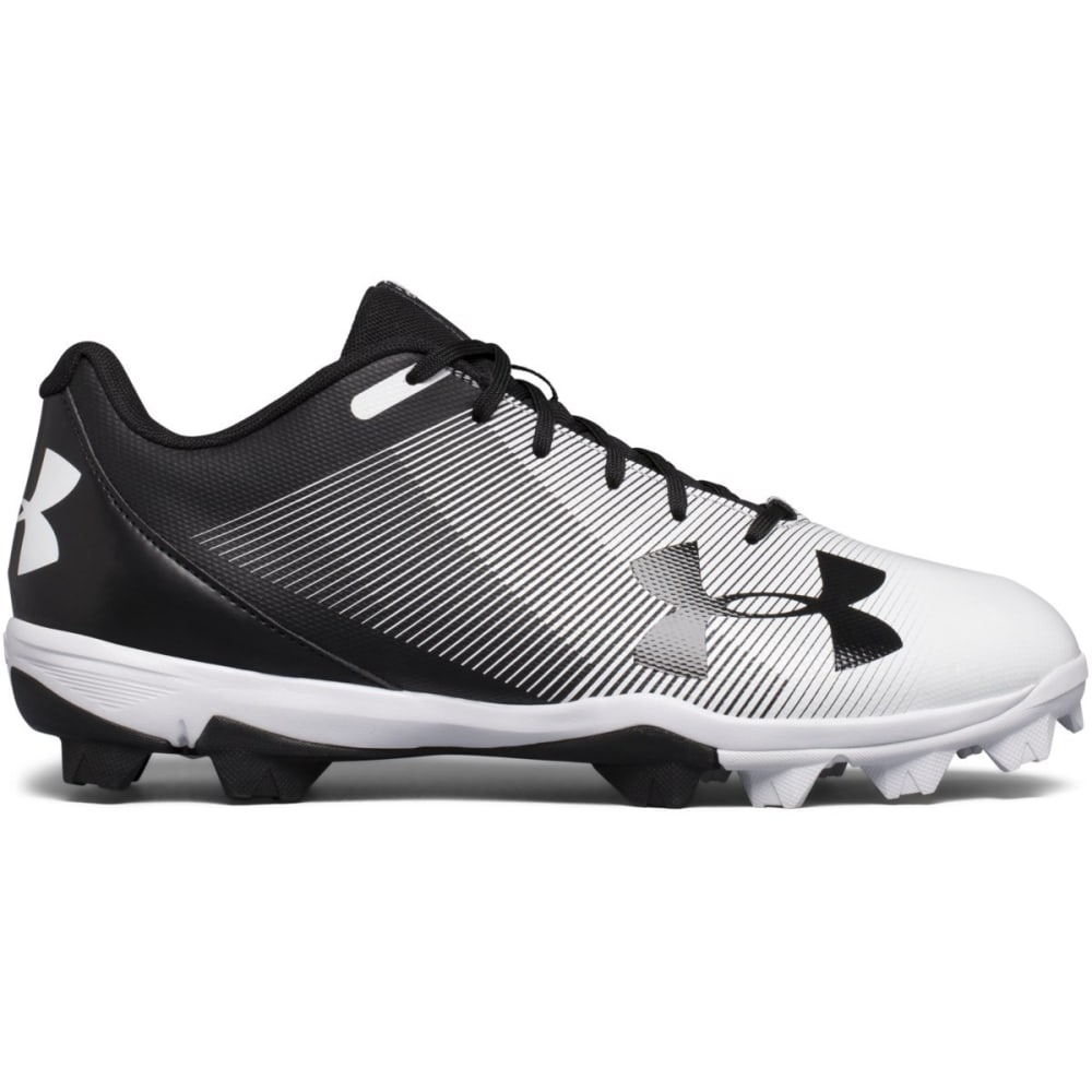 UNDER ARMOUR Men's UA Leadoff Low RM Baseball Cleats - BLACK