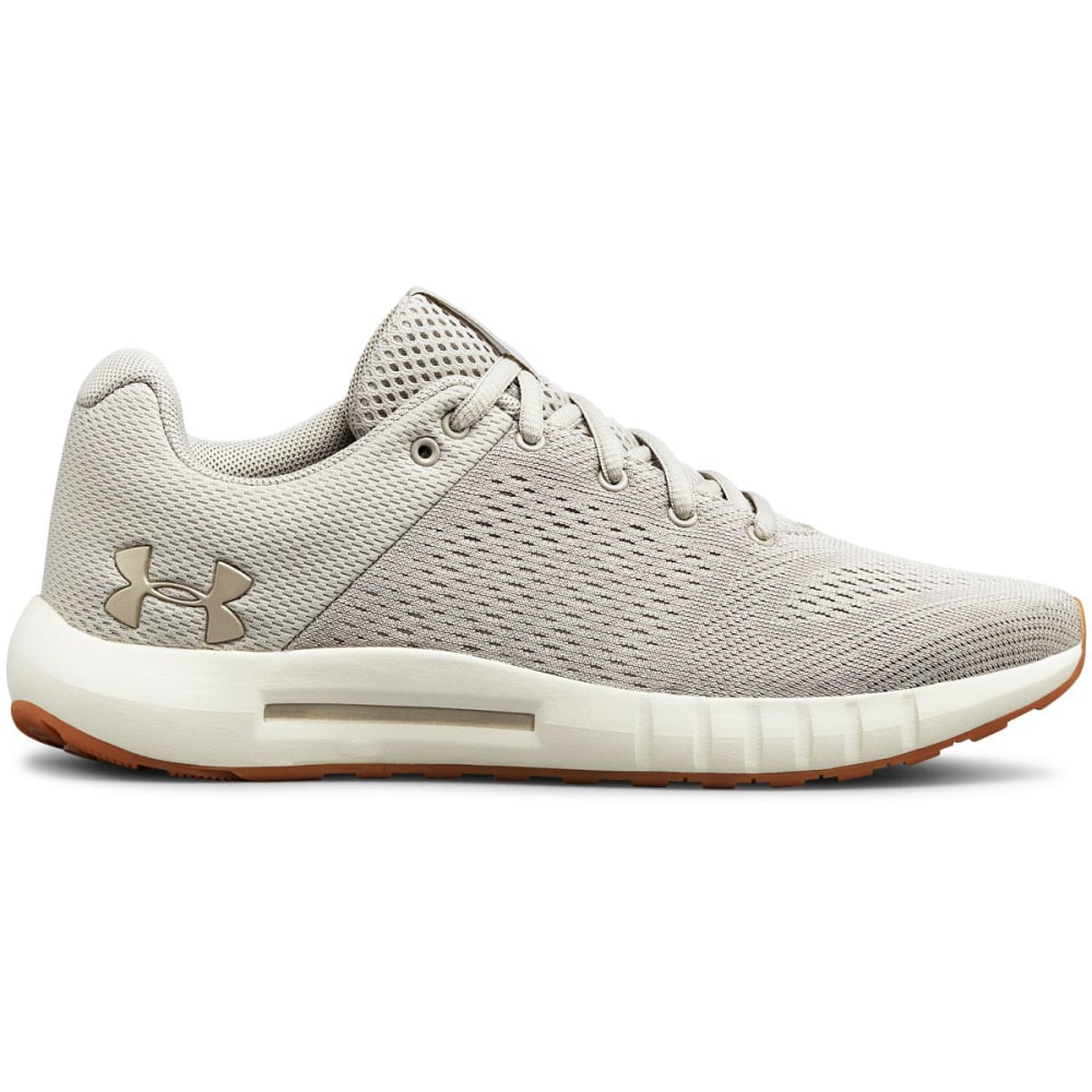 UNDER ARMOUR Women's Micro G Pursuit Running Shoes - GHOST GRY - 109
