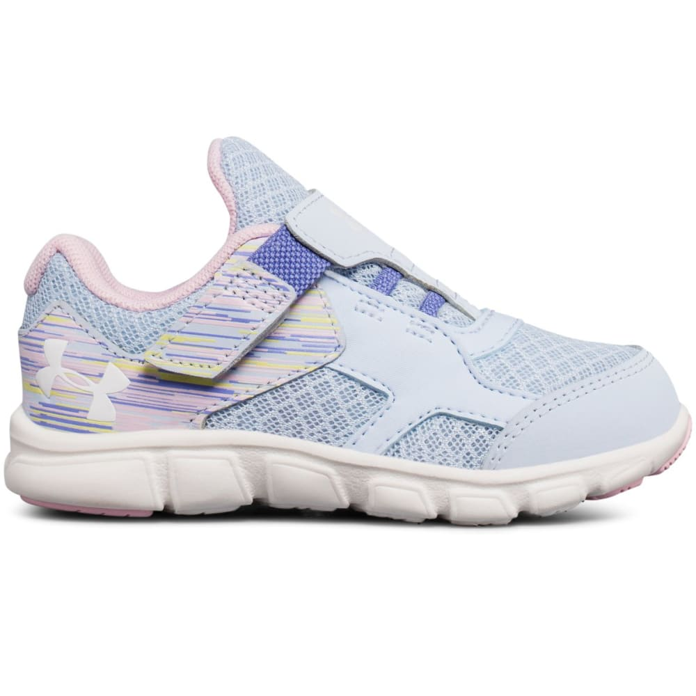 UNDER ARMOUR Infant Girls' UA Thrill AC Sneakers - BLUE/PINK/IVORY