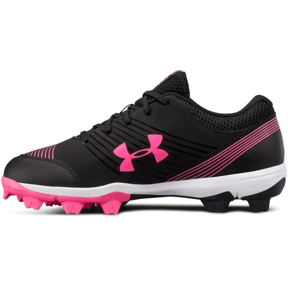 UNDER ARMOUR Women's UA Glyde Rubber Molded Softball Cleats - BLACK