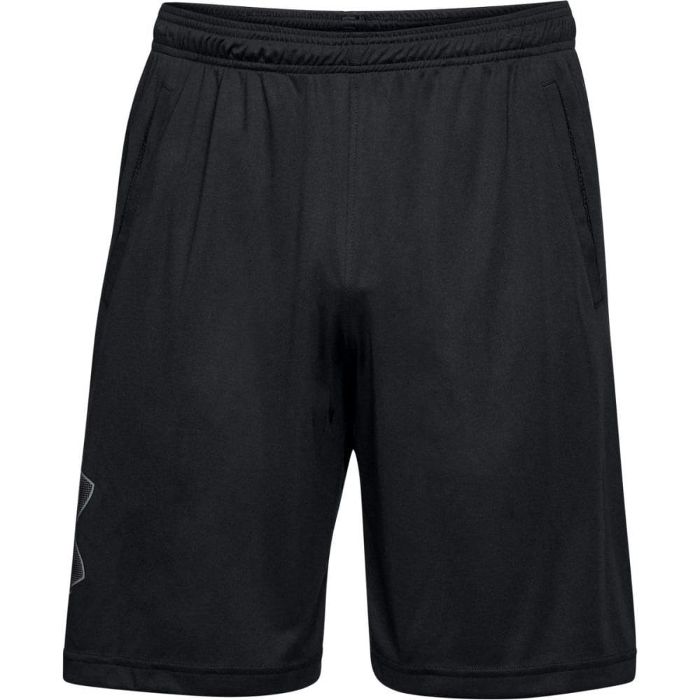 UNDER ARMOUR Men's UA Tech Graphic Shorts - BLACK/GRAPHITE-001