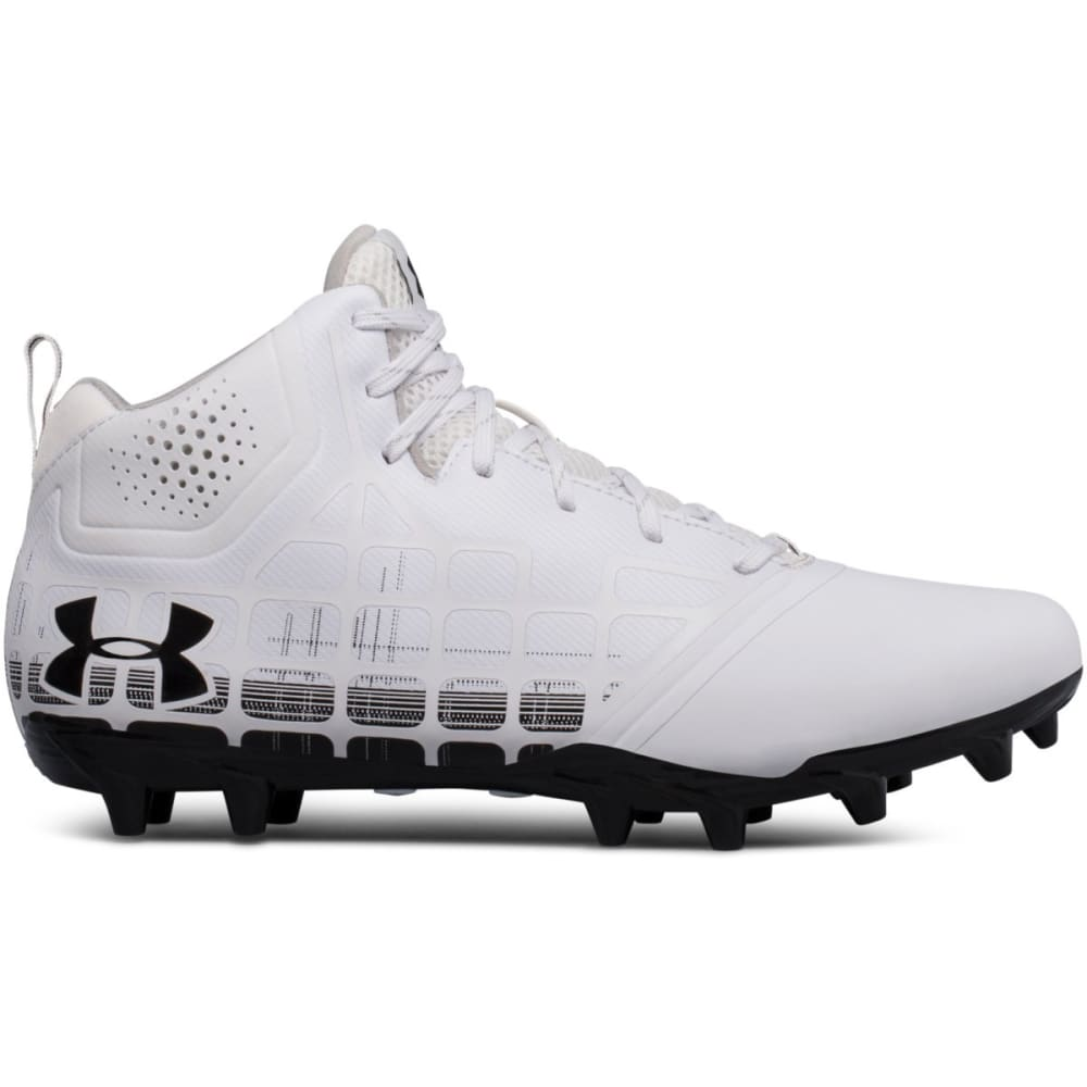 UNDER ARMOUR Men's UA Banshee Ripshot Lacrosse Cleats - WHITE