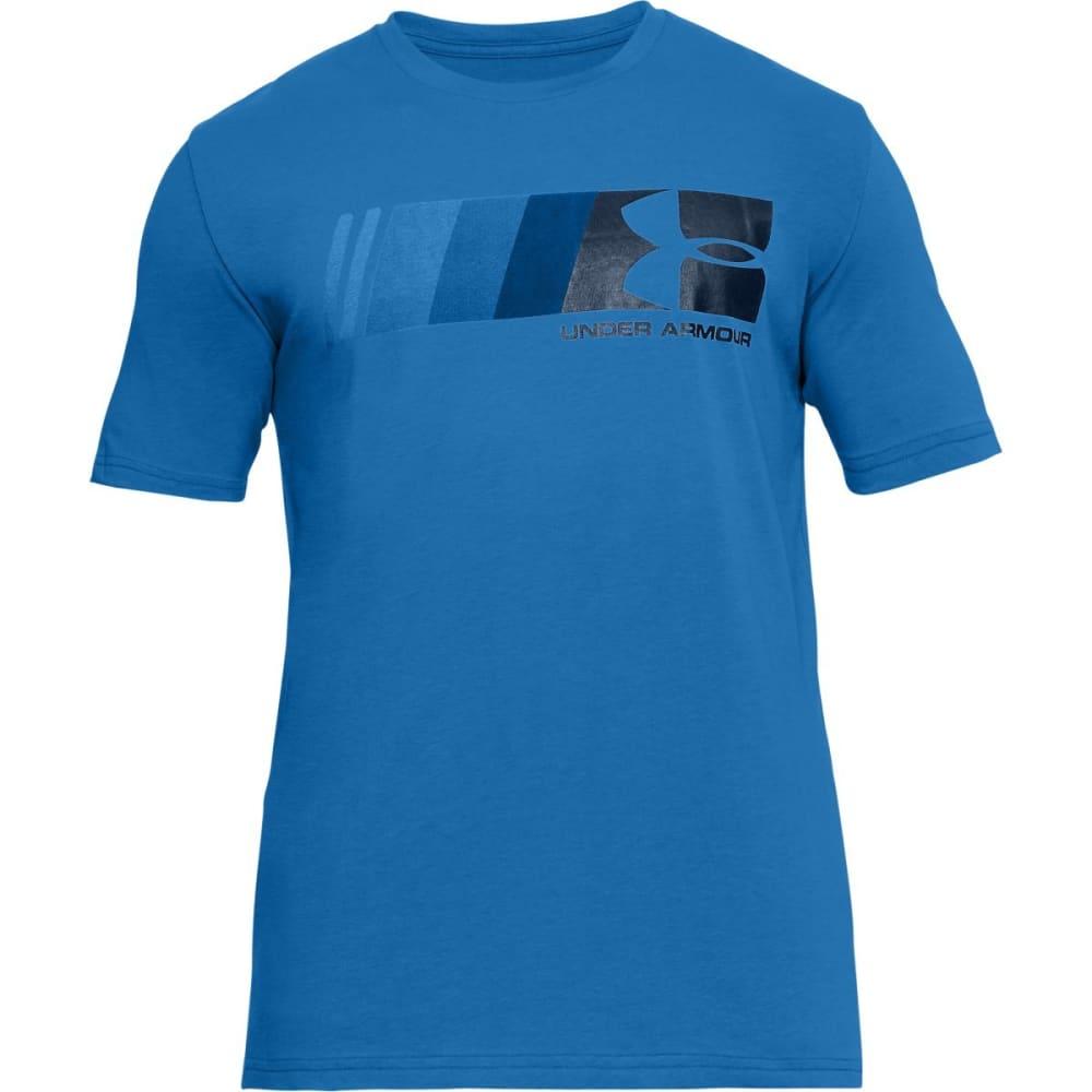 UNDER ARMOUR Men's UA Fast Left Chest Logo Short-Sleeve Tee - MEDITERRANEAN-437