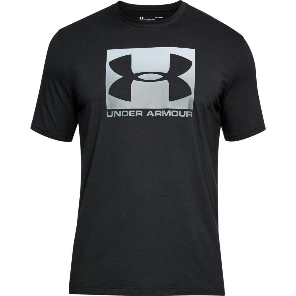 UNDER ARMOUR Men's UA Boxed Sportstyle Short-Sleeve Tee - BLACK/STEEL-001