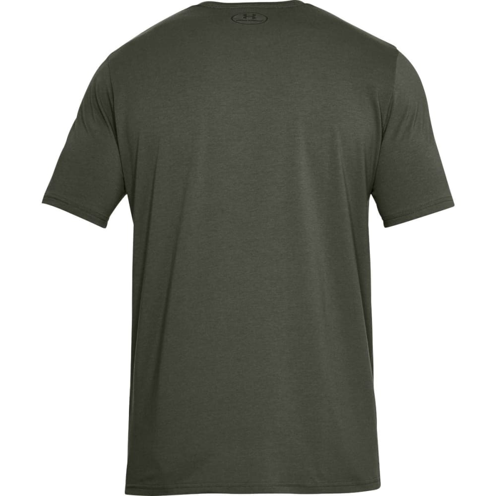 UNDER ARMOUR Men's UA Boxed Sportstyle Short-Sleeve Tee - DOWNTOWN GRN-331