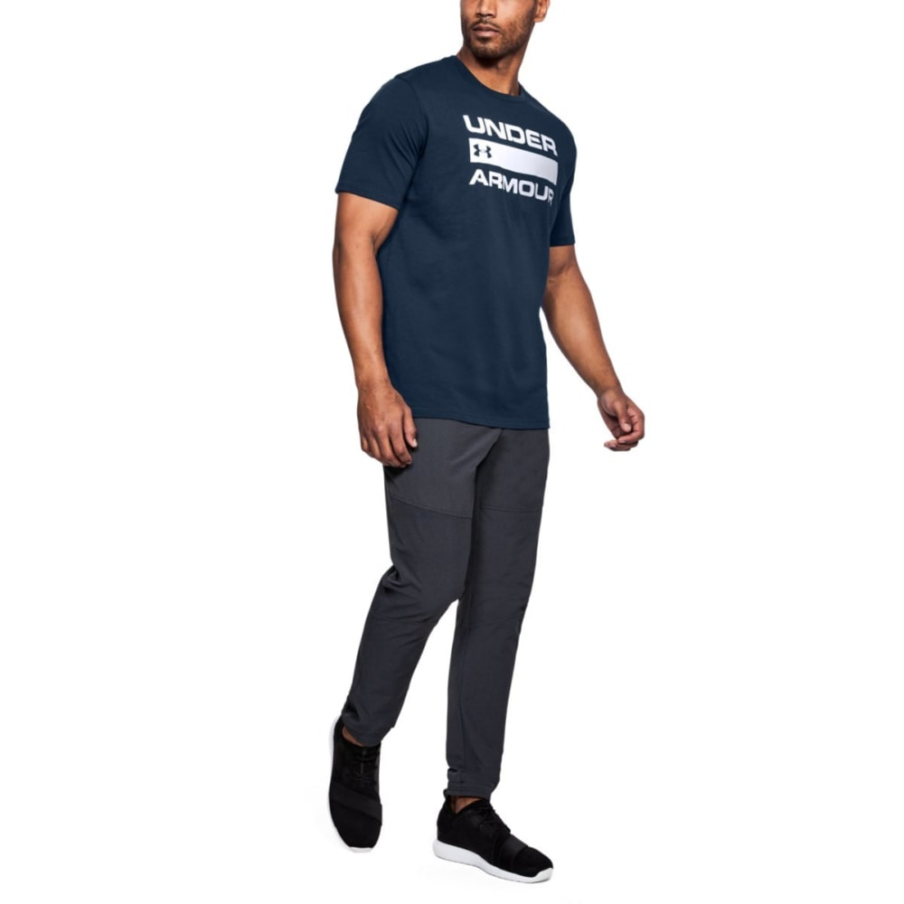 UNDER ARMOUR Men's UA Team Issue Wordmark Short-Sleeve Tee - ACADEMY-408